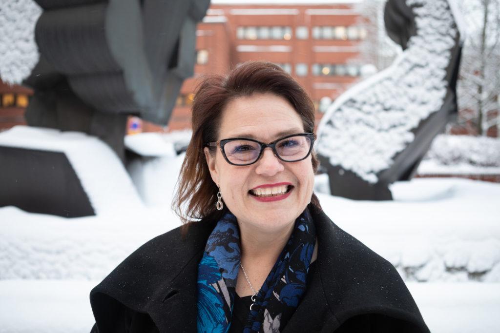 Kommunförbundets verkställande direktör Minna Karhunen.