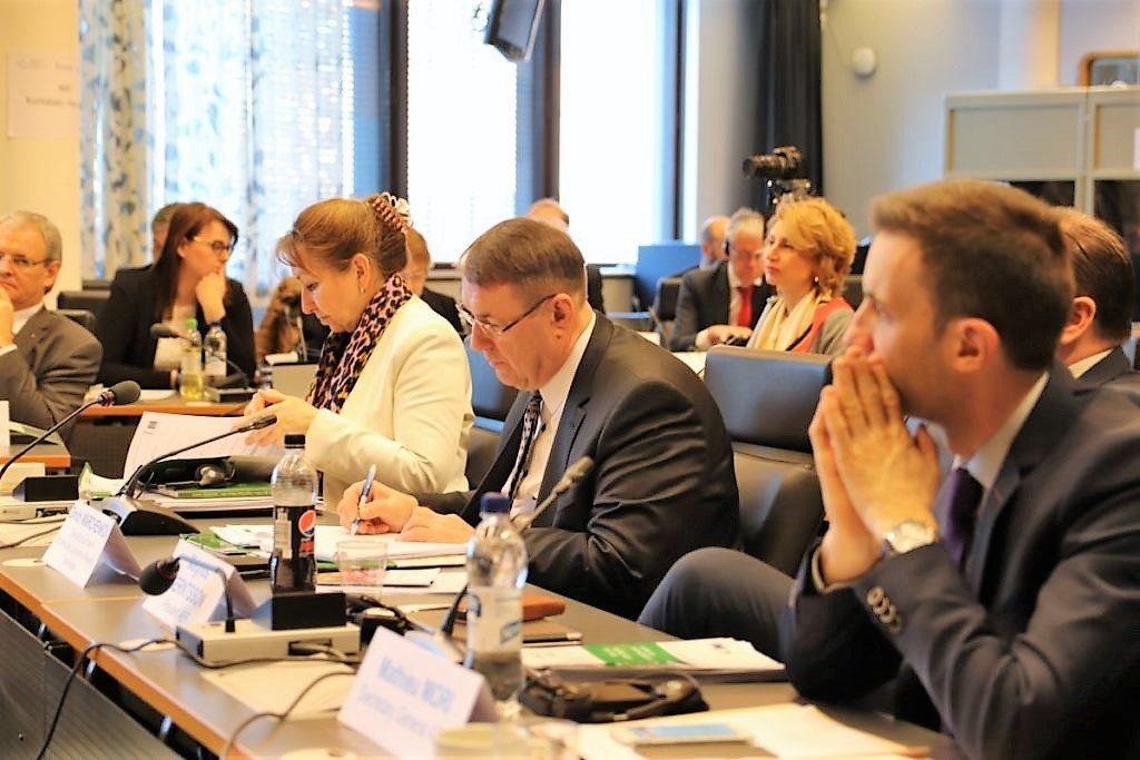 Styrelsen för Europarådets kommunalkongress sammanträdde i Helsingfors i Kommunernas hus. Finland har ordförandeskapet i Europarådet till maj 2019.