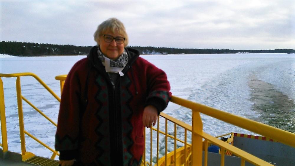 Tarja Rinne är stolt över jämställdheten i mandatfördelningen i Pargas.