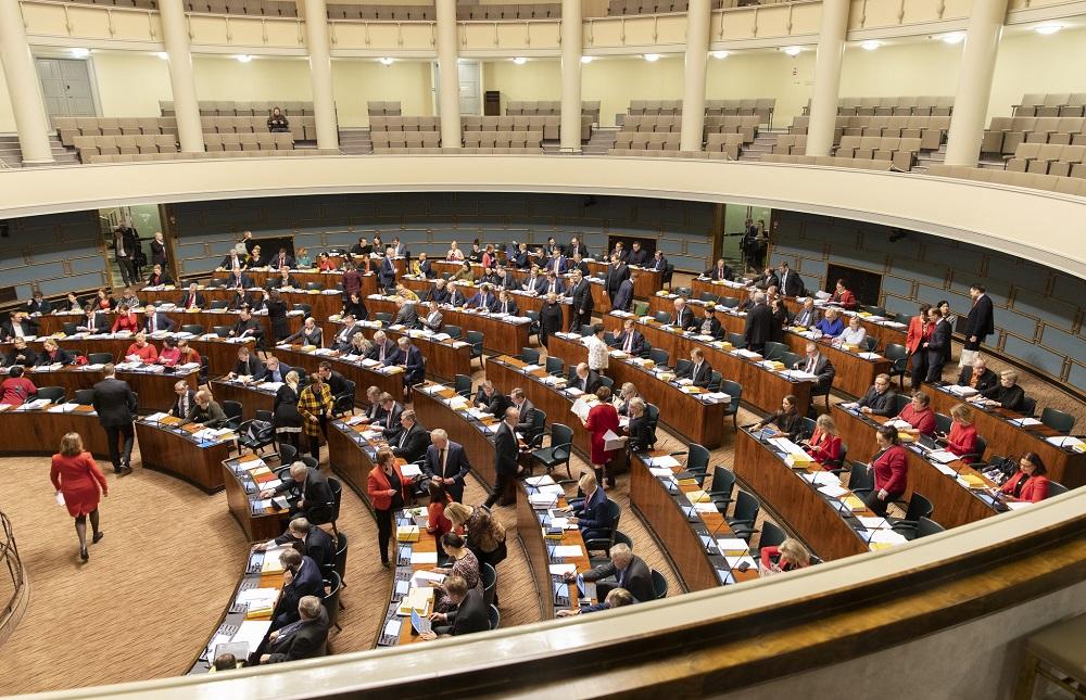 Finlands riksdag.