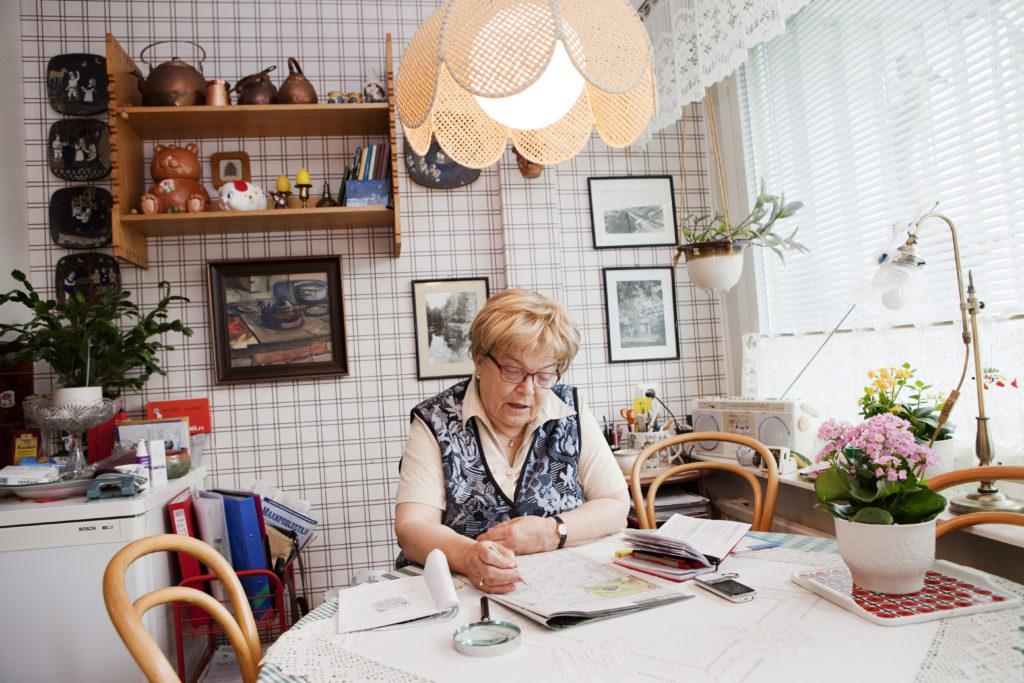 Kvinnornas medelpension är 1 499 euro i månaden, dvs. en dryg femtedel mindre än männens.