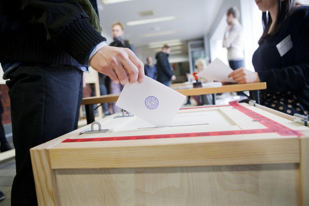 Larsmoborna röstade flitigast med ett valdeltagande på 86,1 procent.