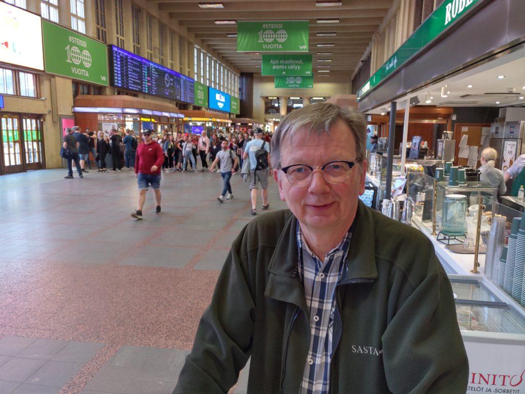 Björn Sundell säger att i kampen om invånare är en del kommuner dömda att förlora. Foto: Dan Lolax