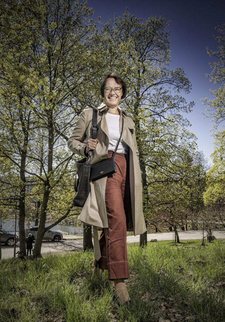 Då den nya regeringen tar itu med vårdreformen hoppas Kristina Wikberg på olika modeller för olika typer av kommuner. Foto: Karl Vilhjálmsson