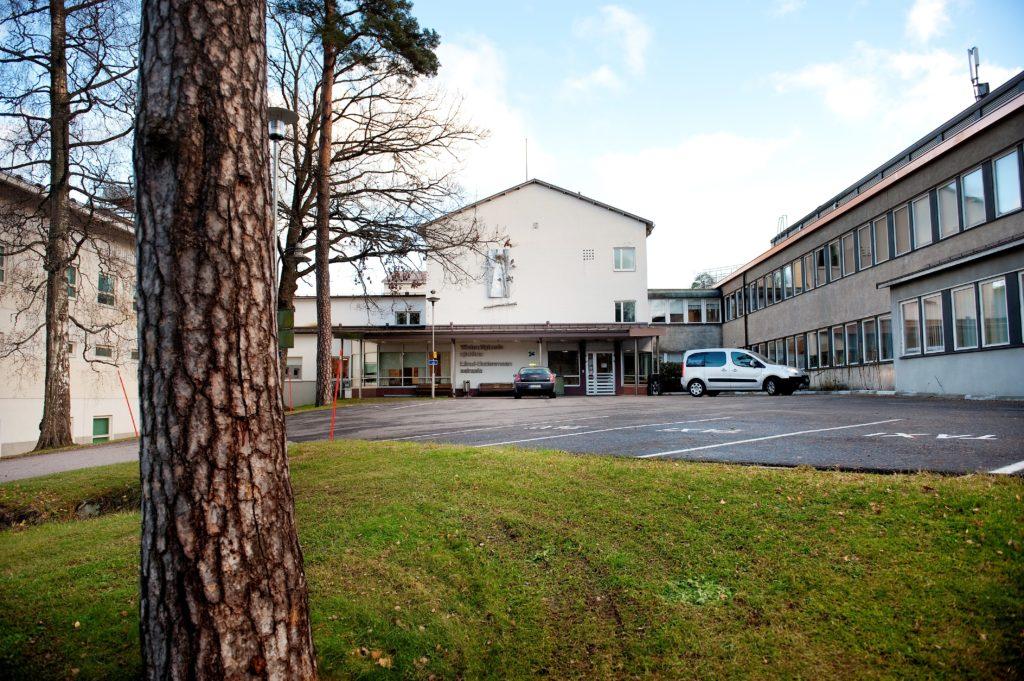 Raseborgs sjukhus samjour har debatterats flitigt under vårvintern. Bild: HUS.