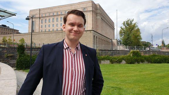 Jacob Storbjörk blir informatör i SDP:s riksdagsgrupp.