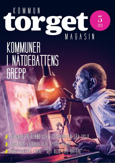 Kommuntorget Magasin, omslagsbild nummer 3/2019