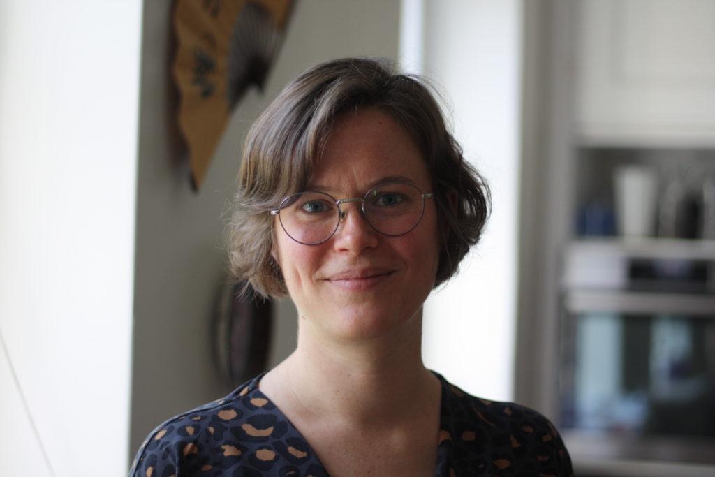 Frida Gyllenberg är läkare vid Vanda stad. Foto: Dan Lolax