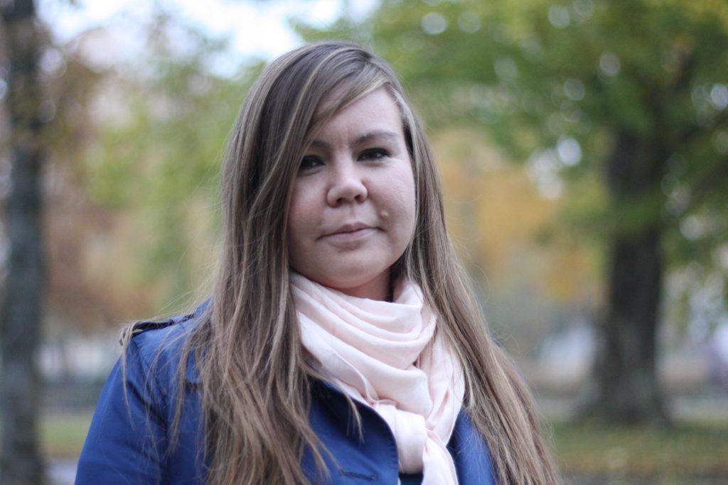 Pargasbon Erica Helin, 32, har stöd i Åboland och Västnyland. Foto: Dan Lolax