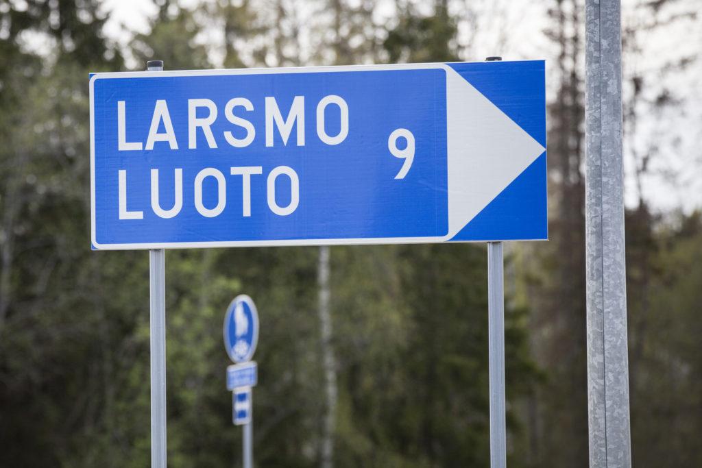 I tvåspråkiga Larsmo är andelen svenskspråkiga 92 procent och finskspråkiga 5,7 procent.