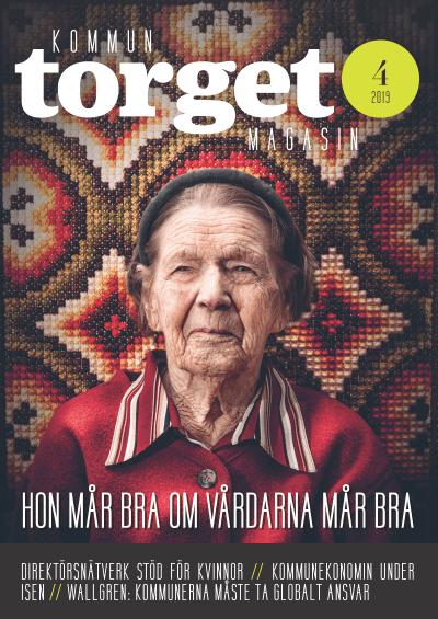 Kommuntorget Magasin, omslagsbild nummer 4/2019