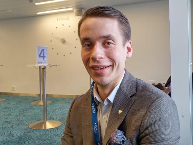 Henrik Wickström, kommunstyrelseordförande i Ingå (SFP).