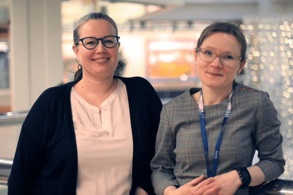 Minna Lindberg och Mari Sjöström är sakunniga vid Kommunförbundet inom utbildningsfrågor.