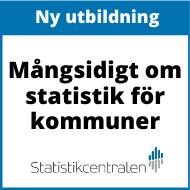 Annons: Mångsidigt om statistk - utbildning från statistikcentralen