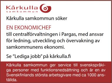 Annons: öppna sidan Kårkulla.fi