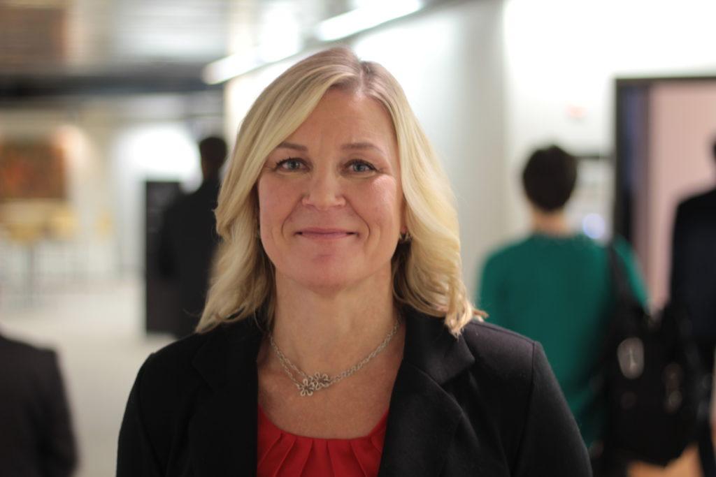 Barbara Heinonen är inne på sitt sjätte år som stadsdirektör i Mariehamn.