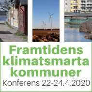 Banner: Framtidens klimatsmarta kommun