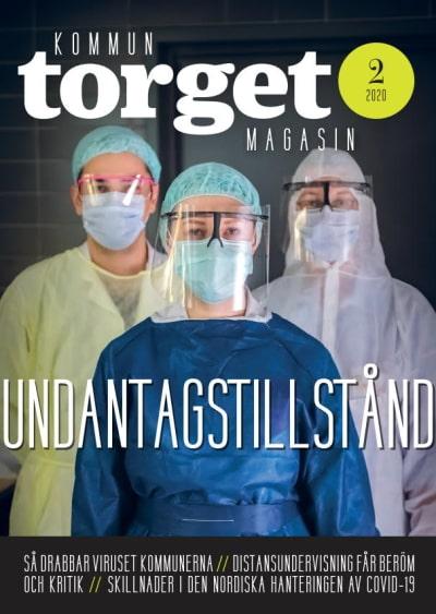 Kommuntorget Magasin, omslagsbild nummer 1/2020