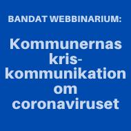 Banner: Videoutbildning: kriskommunikation