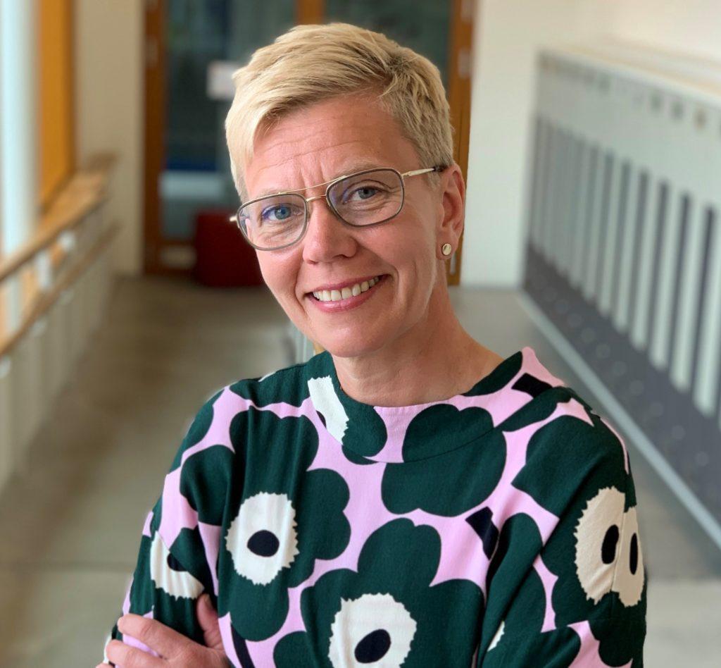 Inger Damlin från Vörå är ordförande för FSL.