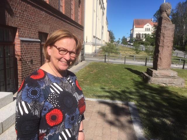 Stadsdirektör Kristina Stenman blickar tillbaka på fyra innehållsrika år i Jakobstad. I augusti blir hon Finlands diskrimineringsombudsman.