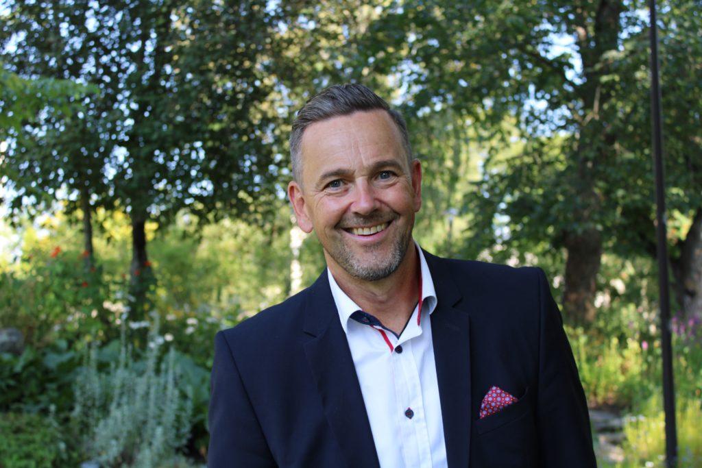 Ulf Stenman, tf kommundirektör i Kronoby.