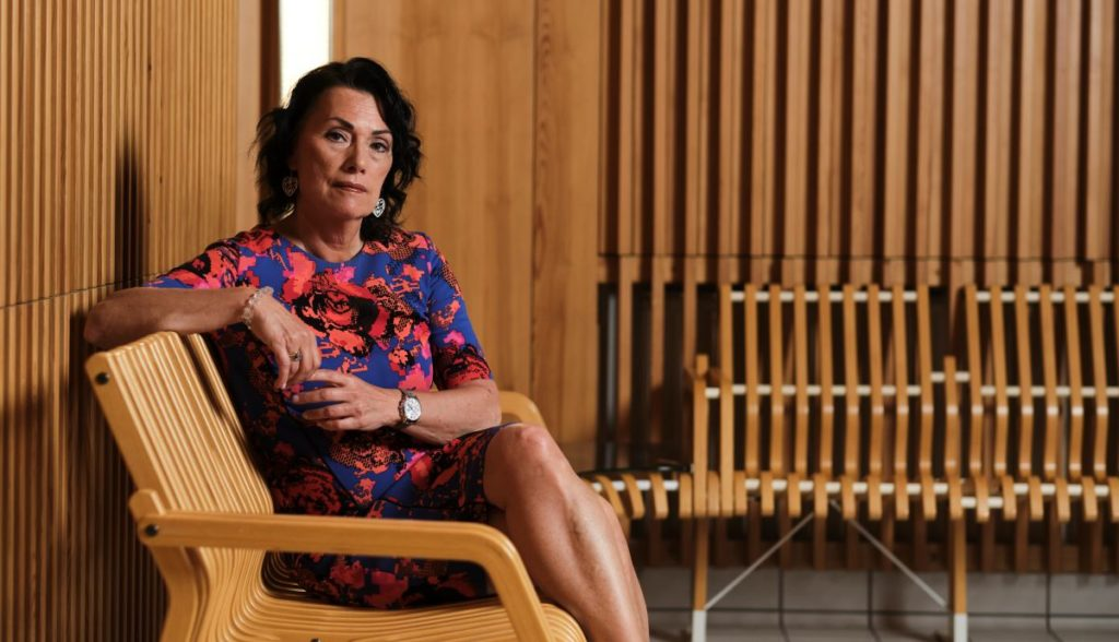Hanna Tainio är vice vd i Kommunförbundet med övergripande ansvar bland annat för social. och hälsovårdsfrågor.