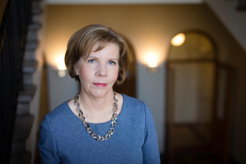 Anna-Maja Henriksson (SFP) fick ett stort stöd i riksdagen.