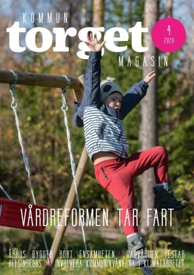 Kommuntorget Magasin, omslagsbild nummer 4/2020