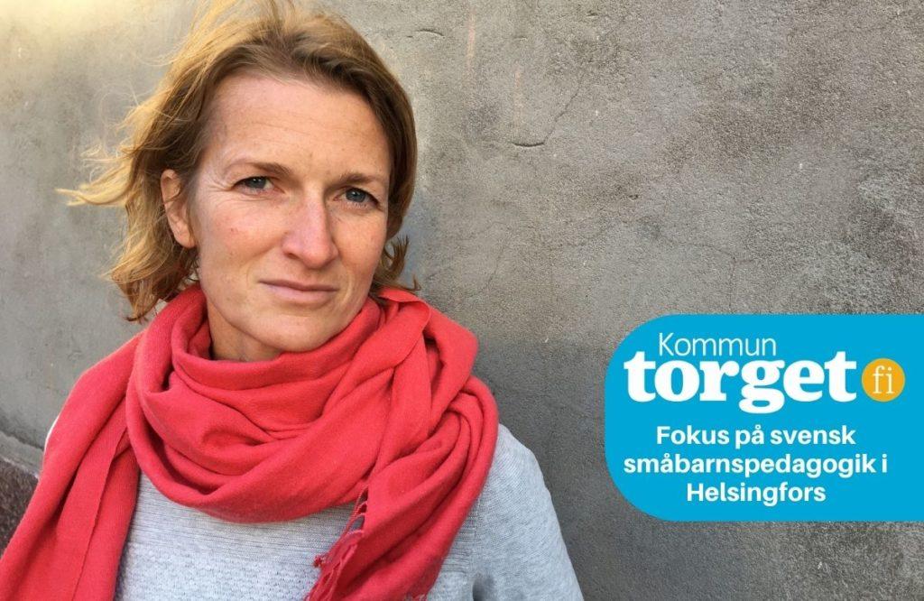 Frilandsjournalisten Lina Laurent har utrett småbarnspedagogiken i Helsingforsregionen.