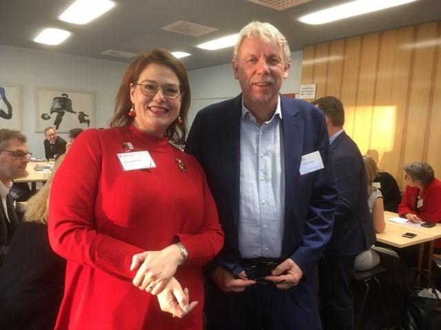 Minna Karhunen och Staffan Isling säger att samarbetet mellan kommunförbunden i Finland och Sverige har varit meningsfullt.