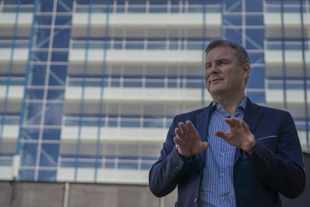 Sjukvårdsdistriktets direktör Matti Bergendahl.