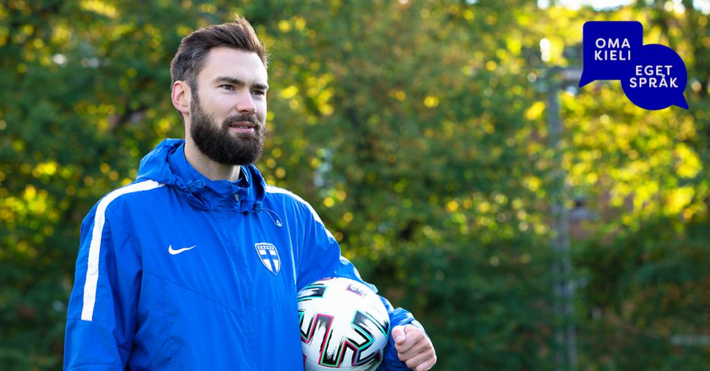 Tim Sparv, kapten för Finlands fotbollslandslag Huuhkajat.