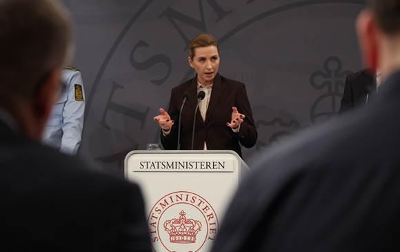 Danmarks statsminister Mette Frederiksen.