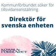 Kommunförbundet söker ny svensk direktör