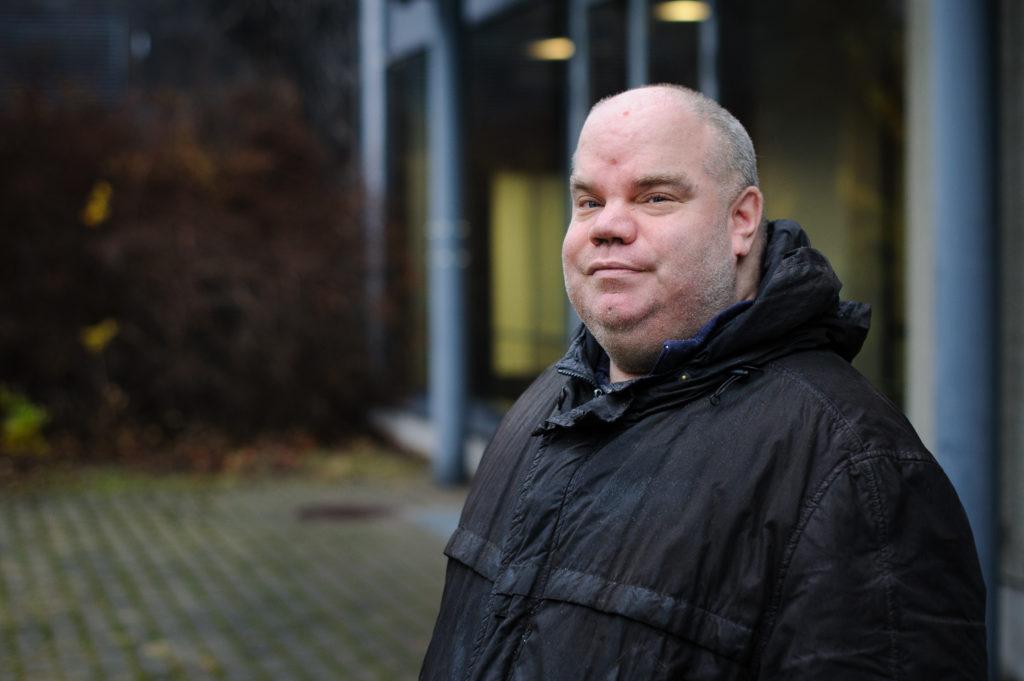 Niclas Jansson har jobbat på storkök i Grankulla sedan 2005.