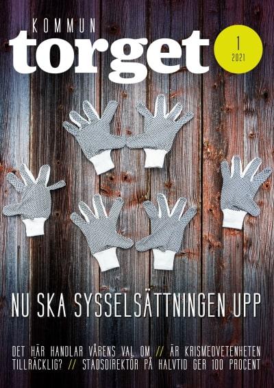 Kommuntorget Magasin, omslagsbild nummer 1/2021