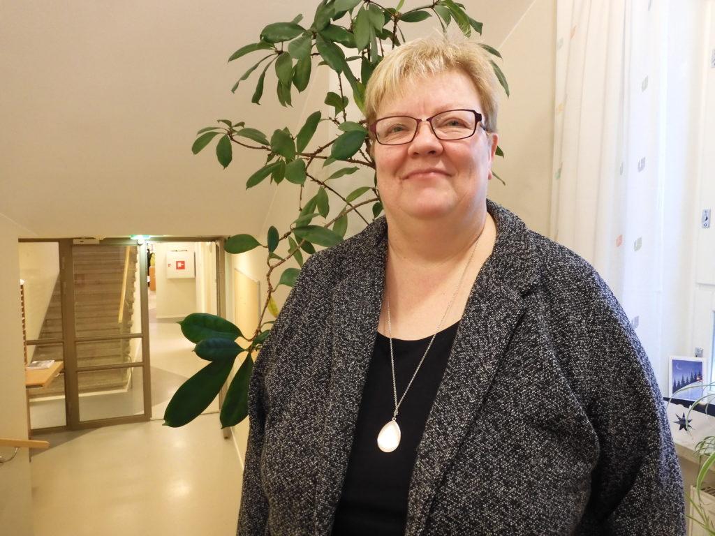 Förvaltningschef Carola Löv i Larsmo kan snart titulera sig pensionär.