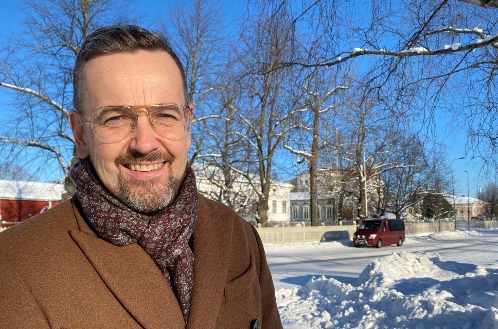 Kommunförbundets nya svenska direktör Ulf Stenman.