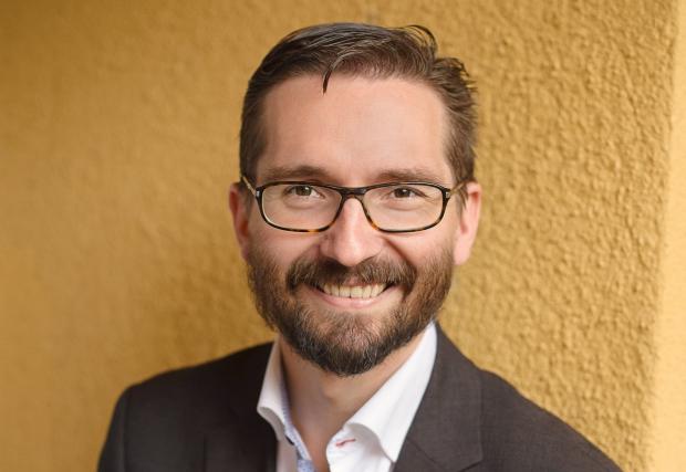 Fredrik Guseff är SFP:s partisekreterare.