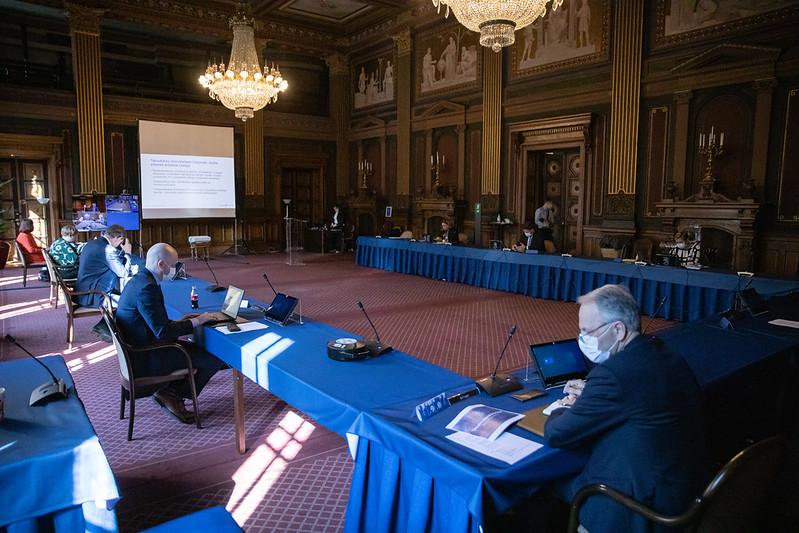 Regeringens ramförhandlingar inleddes på onsdagen.