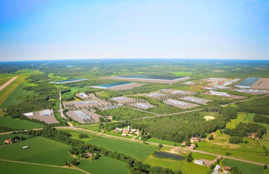 Brittiska Johnson Mattheys har reserverat ett 50 hektar stort område för sin batterifabrik i Långskogen mellan flygplatsen och järnvägen i Vasa.