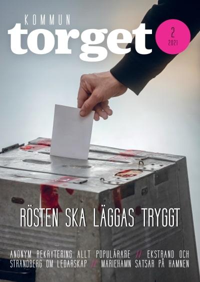 Kommuntorget Magasin, omslagsbild nummer 2/2021
