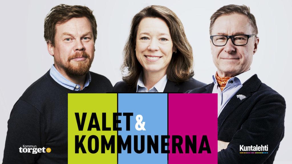 Valresultatet analyseras bland annat av professor Åsa von Schoultz. Kunta-TV:s sändning på måndag leds av Dan Lolax och Markku Vento.
