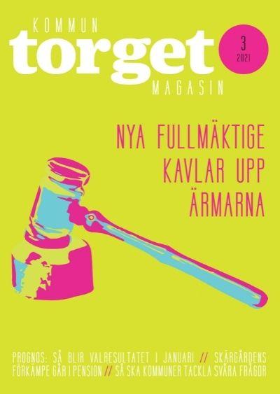 Kommuntorget Magasin, omslagsbild nummer 3/2021