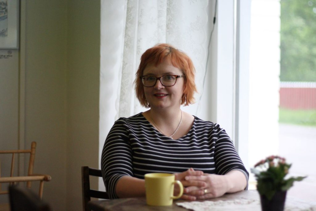 Tiina Heikka har varit kommundirektör i Lappträsk sedan 2014.